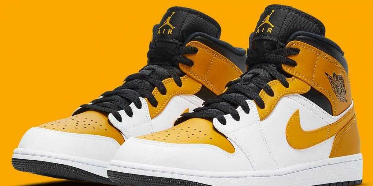 The Air Jordan 1 Mid Release With University Gold for Black Friday Holiday