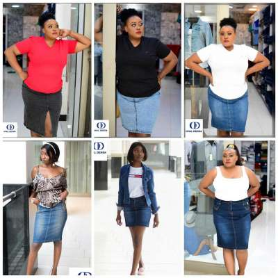 Stylish weekends on denim skirts Profile Picture