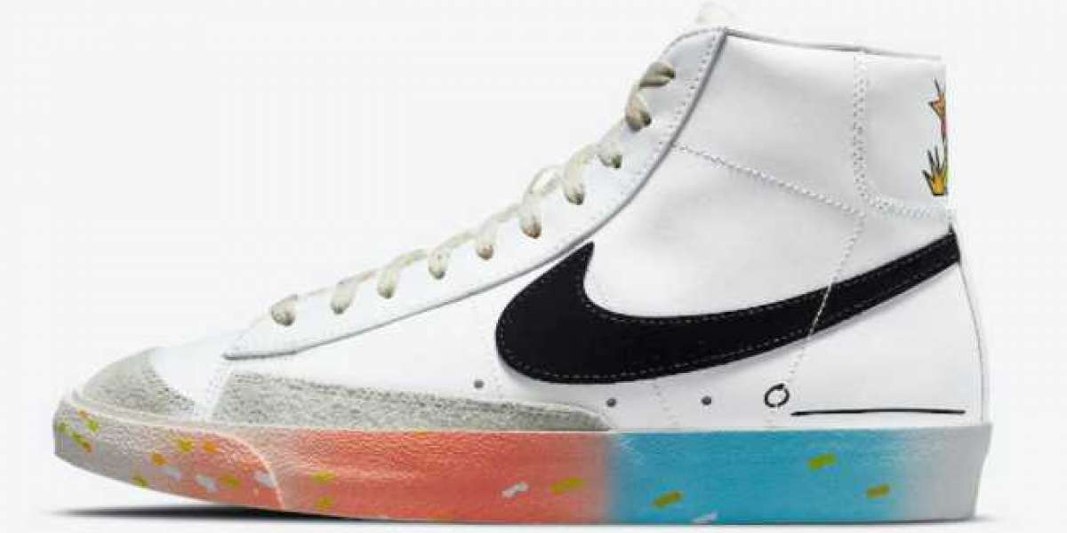 "Nike Blazer Mid 77 ""Just Do It"" 2021 New Arrival DJ4278-101"