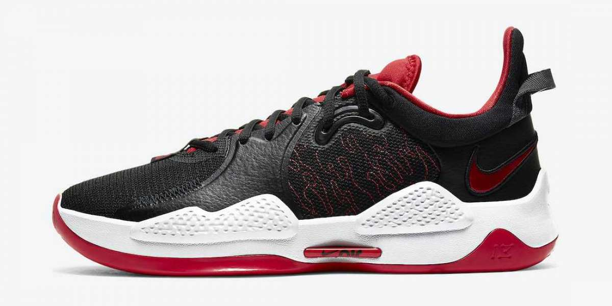 """The new Nike PG 5 """"Bred"""" CW3143-002 shoes are available in limited edition"""