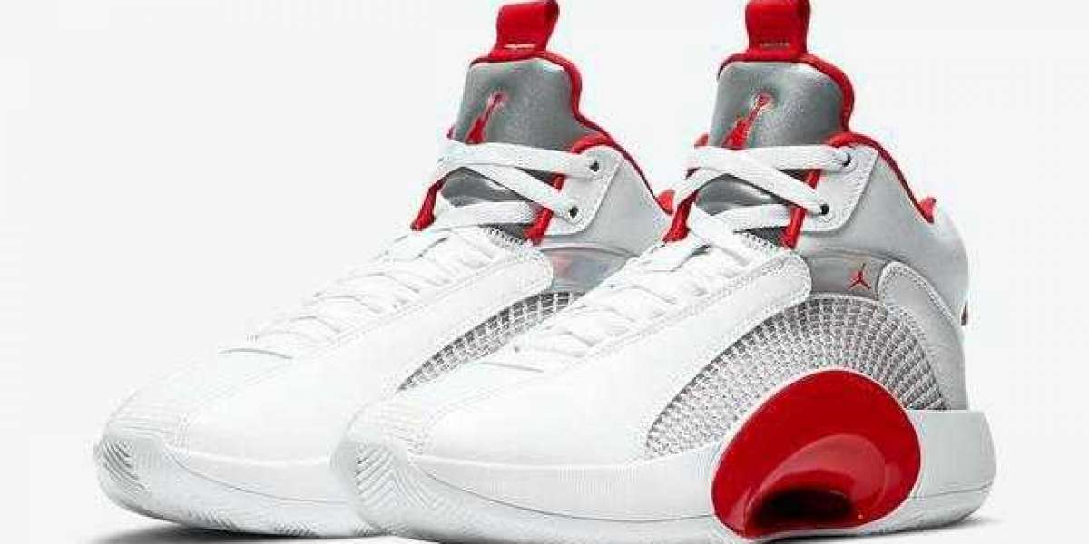 """Air Jordan 35 """"Fire Red"""" CQ4228-100 released on March 4"""