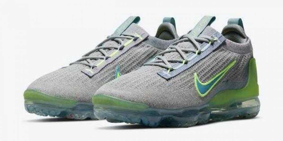 "AWESOME NIKE AIR VAPORMAX 2021 COMING IN ""GREY NEON"""