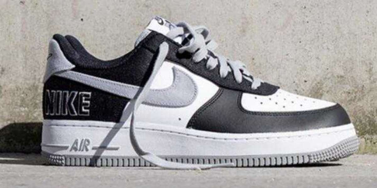 Newest Nike Air Force 1 LV8 EMB Get Cover with Black and Silver